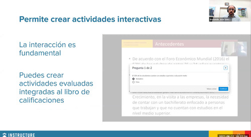 UANE, México: Función del video dentro de la educación en línea
