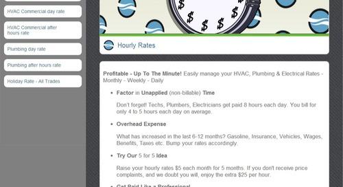 Setting Hourly Rates
