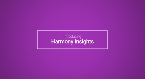 Harmony Insights: Customer Story