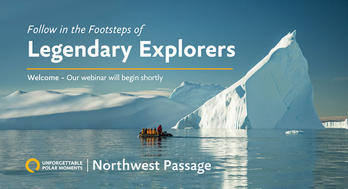 Northwest Passage: Follow in the Footsteps of Legendary Explorers | Unforgettable Polar Moments