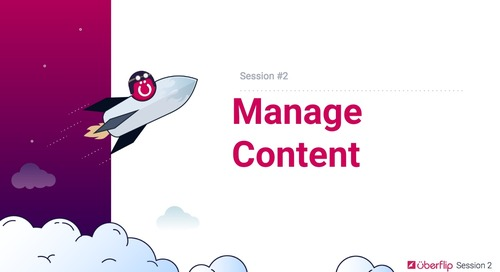 Session 2 - Manage Content