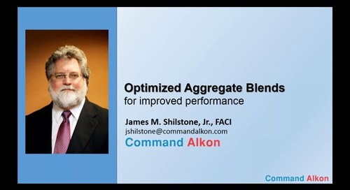 #6 - Optimized Aggregate Blends for Improved Performance