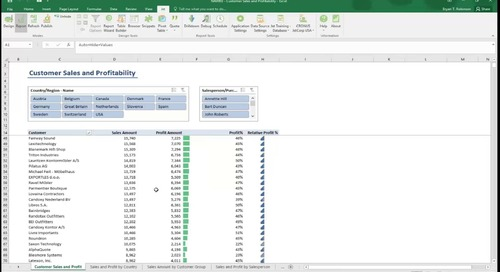 Using Pre-Built Reports in Jet Professional for Microsoft Dynamics NAV