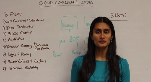 Movie Line Monday - How it works: Netskope Cloud Confidence Index for Cloud Security