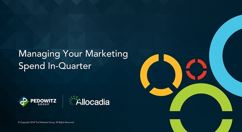 Webinar: Managing your Marketing Spend In-Quarter