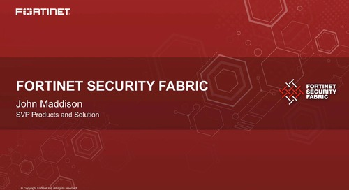 Fortinet Security Fabric - Session 01