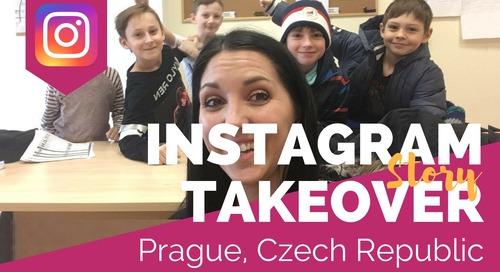 Day in the Life Teaching English in Prague, Czech Republic with Megan Newnham