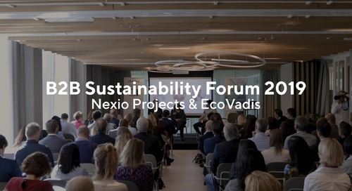 EcoVadis - Nexio Projects: B2B Sustainability Forum