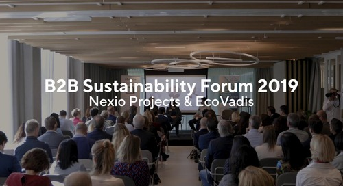 EcoVadis - Nexio Projects: B2B Sustainability Forum
