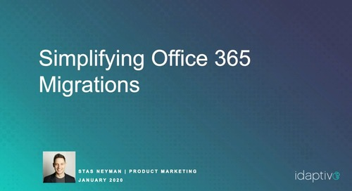 Simplifying Office 365 Migrations