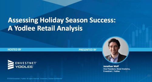 On-Demand Webinar: Assessing Holiday Season Success: A Yodlee Retail Analysis