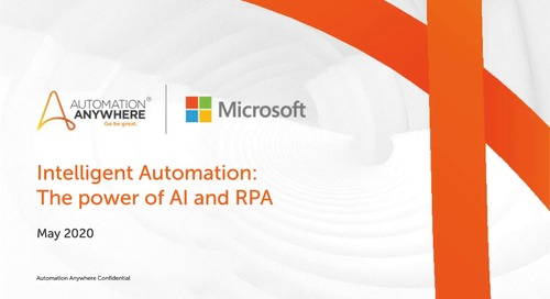 Intelligent Automation – The Power of AI and RPA