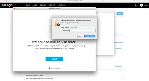 OneLogin Desktop for Mac