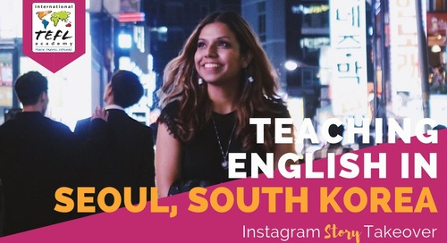 Day in the Life Teaching English in Seoul, South Korea with Cecilia Cervantes