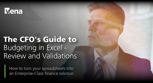 The CFO's Guide to Budgeting in Excel - Review and Validations