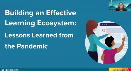 Building an Effective Learning Ecosystem