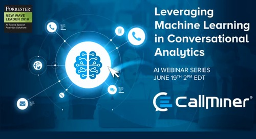 Leveraging Machine Learning in Conversational Analytics