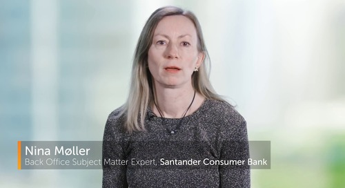 Robotic Processing Automation is a major component of Santander Consumer Bank's Business Strategy