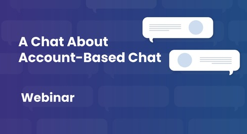 A Chat About Chat Webinar