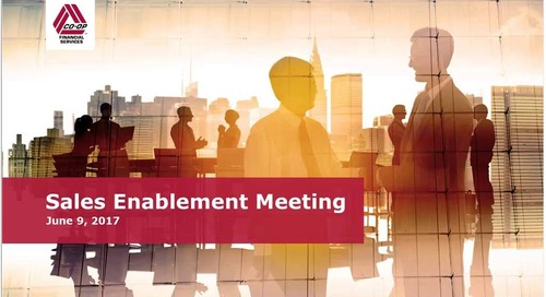 June 2017 - Monthly Sales Enablement Webinar (Internal)