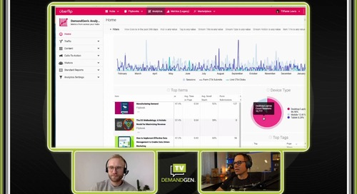 DemandGen TV: Uberflip for Audience Intelligence