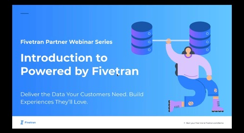 Enhance Your Customer's Data Experience with Fivetran