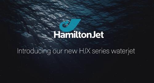 New HJX Series Waterjets by HamiltonJet