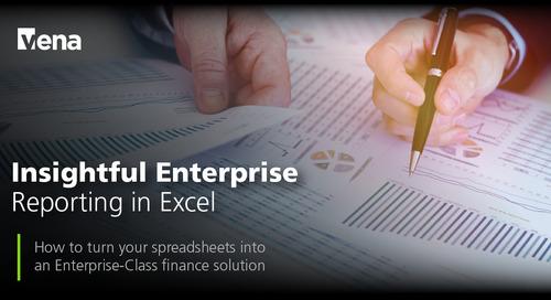 Insightful Enterprise Reporting in Excel