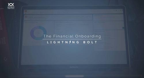 Appirio's Financial Onboarding Lightning Bolt