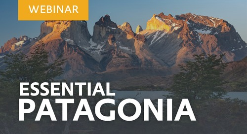 """Learn about our """"Essential Patagonia: Chilean Fjords and Torres del Paine"""" voyage with Nick Engelmann and Mauricio Alvarez Ruiz"""