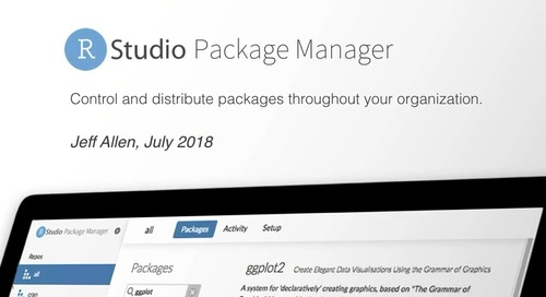 RStudio Package Manager Architecture