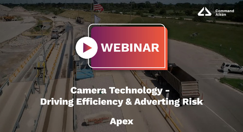 Apex Webinar | Camera Technology - Driving Efficiency Adverting Risk