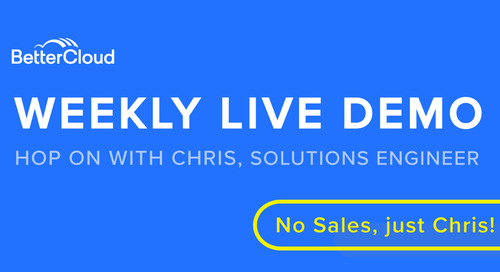 Live Weekly Demo - March 2020
