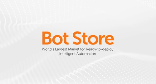 Jumpstart Your Automation Journey with Bot Store