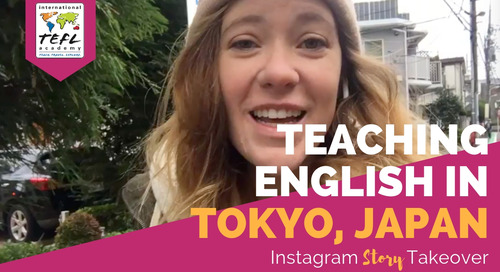 Day in the Life Day Teaching English in Tokyo, Japan with Amber Jester