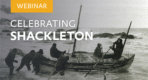 Webinar: Celebrating Shackleton