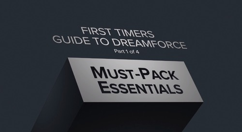 7 Must-Pack Essentials for Dreamforce