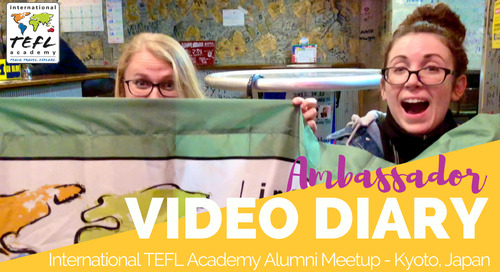 International TEFL Academy Alumni Meetups in Kyoto, Japan