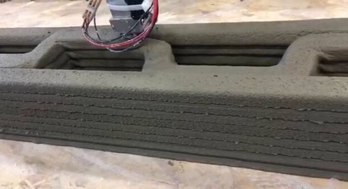 3D printing construction printing cement Apis Cor