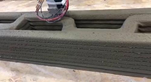 3D printing construction printing cement Apis Cor