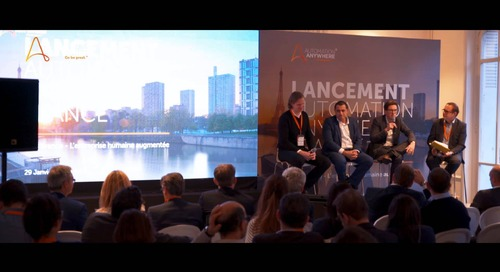 Automation Anywhere - France Launch Event - 29/01/2019