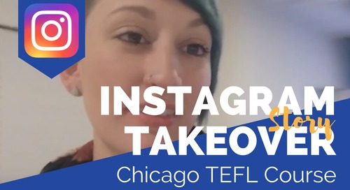 Day in the Life of our Chicago, USA TEFL Class with Melissa Maida