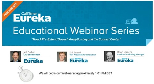 API Series 1: How API's Extend Speech Analytics Beyond the Contact Center