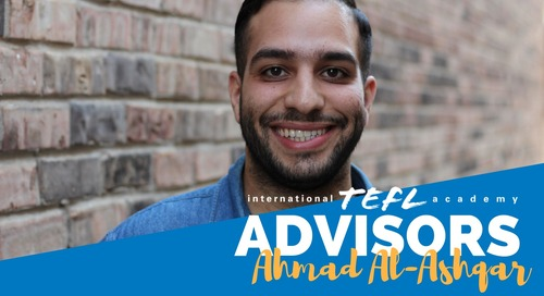 International TEFL Academy Advisor - Ahmad Al-Ashqar