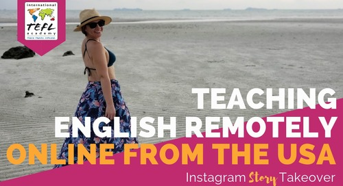 Day in the Life Teaching English Remotely Online from the USA with Amy Weiss
