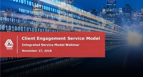 ET&S Integration Webinar - Integrated Service Model