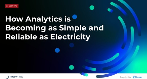 How Analytics is Becoming as Simple and Reliable as Electricity
