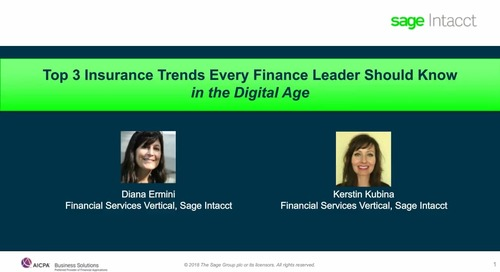 Top 3 Insurance Trends Every Finance Leader Should Know
