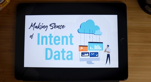 MakingSense of Intent Data