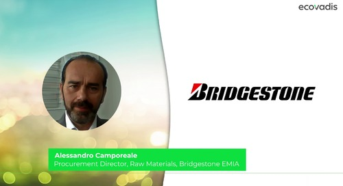 Bridgestone's Practical Advice for Starting a Sustainable Supply Chain Finance Initiative